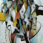 Alberto Flores 20x20 cm 500 inc igv 148x148 - Pintura
