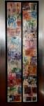 S/T (diptico) - óleo sobre lienzo. 140 x 50 cm.