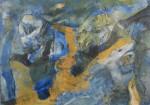 Charo Zapater Sin t+¡tulo 2014. Acr+¡lico y t+®cnica mixta sobre papel 25x35 cm. 840 inc igv 150x105 - Charo Zapater