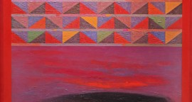 Eduardo Cochachin Horizonte infinito 2018tecnica mixta oleo y lapiz sobre tela 81x 81 cm 1300 inc igv1 270x144 - Eduardo Cochachin / Primera Colección