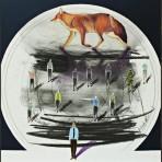 Eduardo Cochachin titulo sombras persistentes 2018 tecnica mixta oleo carbon y lapiz medida 30 x 30 cm 640 inc igv 148x148 - Eduardo Cochachin / Primera Colección
