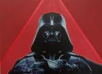 """Elías Alayza Prager Darth Vader óleo sobre lienzo 80x110cm 922 inc igv 150x108 -  """"Retrato Pop"""" Exposición colectiva"""