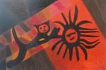 Huancor III, oleo sobre madera prensada tratada, 60 x 90 cm