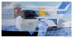 Voladora - técnica mixta sobre tela, 100 x 200 cm.