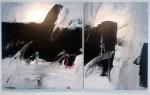 S/T - acrílico sobre lienzo, 167.5 x 275.5 cm.