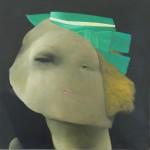 Jose Carlos Ramos - Alberta, óleo sobre tela 45 x 45 cm.