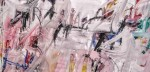 S/T - acrílico sobre lienzo, 160 x 300 cm.