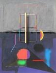 Leoncio Villanueva Alpha Beta. 65 x 50 cm. Acr+¡lico sobre cartulina. 2015 2950 inc igv 115x150 - Leoncio Villanueva