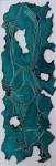 Serie Nazca 4 - impresión sobre dibond, 180 x 60 cm.