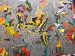 """Nader Barhumi Stone Wall tecnica mixta sobre lienzo280 cm X 220 cm 28000 150x112 - """"Pinturas recientes"""" de Nader Barhumi"""