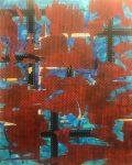 """Nader Barhumi Urbe tecnica mixta sobre lienzo 220 cm X 180 cm 20000 1 120x150 - """"Pinturas recientes"""" de Nader Barhumi"""