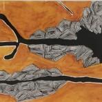 Nader Barhumi st1tenica mixta sobre papel 19x49cm 907inc igv 148x148 - Nader Barhumi – Primera Colección
