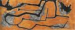 Nader Barhumi st3 tenica mixta sobre papel 19x49cm 907inc igv 150x60 - Primera Colección [9na edición]