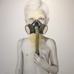 """Paolo Vigo. 2019. Introversi+¦n. mixta sobre lienzo. 100x100cm 150x150 - """"Abreacción"""" de Paolo Vigo"""