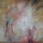 Óleo sobre lienzo, 80 x 80 cm.