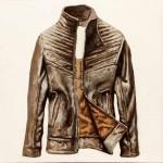 """""""Jacket 3"""" óleo sobre lienzo 30 x 30 cm."""