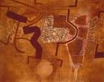 Ricardo Wiesse Sin Título Técnica mixta sobre lienzo 110 x 140 cm 150x118 - Ricardo Wiesse
