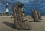 Normandía - óleo sobre tela, 55 x 38 cm