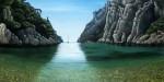 Peniche sobre el Sena - óleo sobre lino, 38 x 55 cm