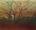 Trepando el árbol, 2001, óleo sobre lienzo, 100 x 122 cm.