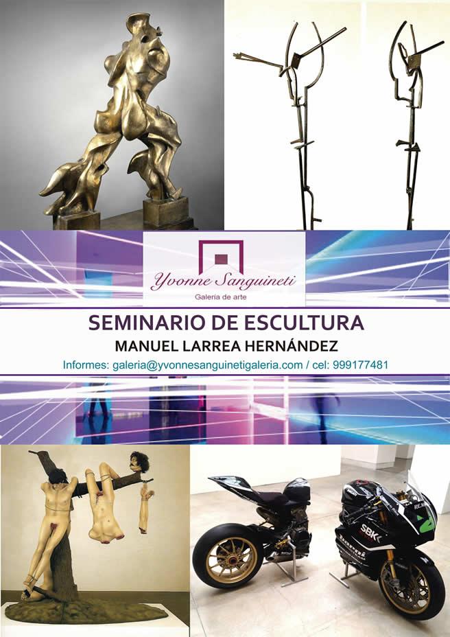 Seminario de Escultura  Manuel Larrea - Clases de Arte Italiano y Escultura Contemporánea