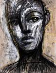 Sin arrepentimientos - dibujo sobre papel, 65 X 50 cm