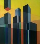 Manhattan - óleo sobre mdf, 81 x 76 cm.